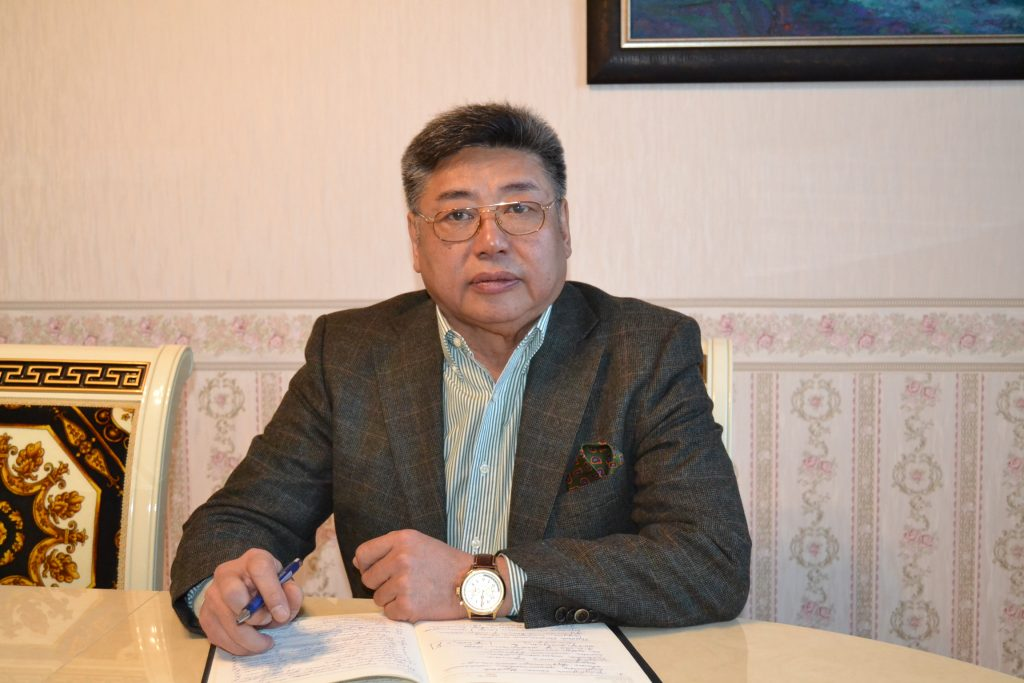 Please meet our CEO, Mr. B. Tsogbadrakh  How did the sheep wool pellet fertilizer project